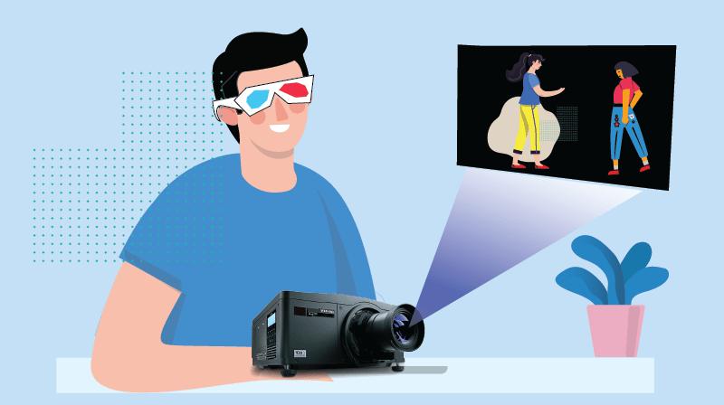 3D Projectors and 3D Glasses