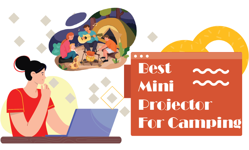best mini projectors for camping