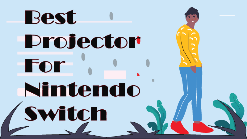 best portable projector for nintendo switch