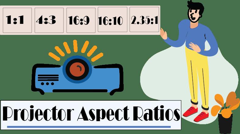 projector aspect ratios