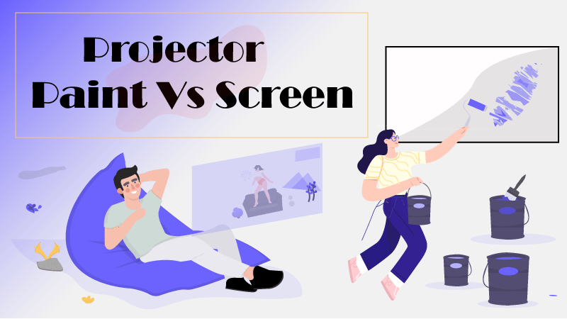 Projection on Wall Vs Screen