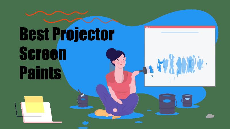 best projector screen paints