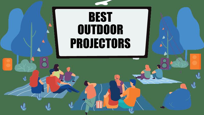 best outdoor movie projectors