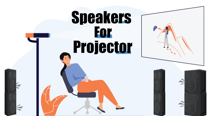 best speakers for an outdoor projector